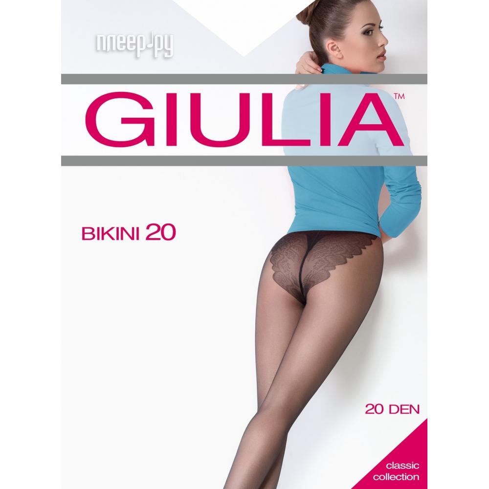 Колготки Giulia Bikini размер 4 плотность 20 Den Daino