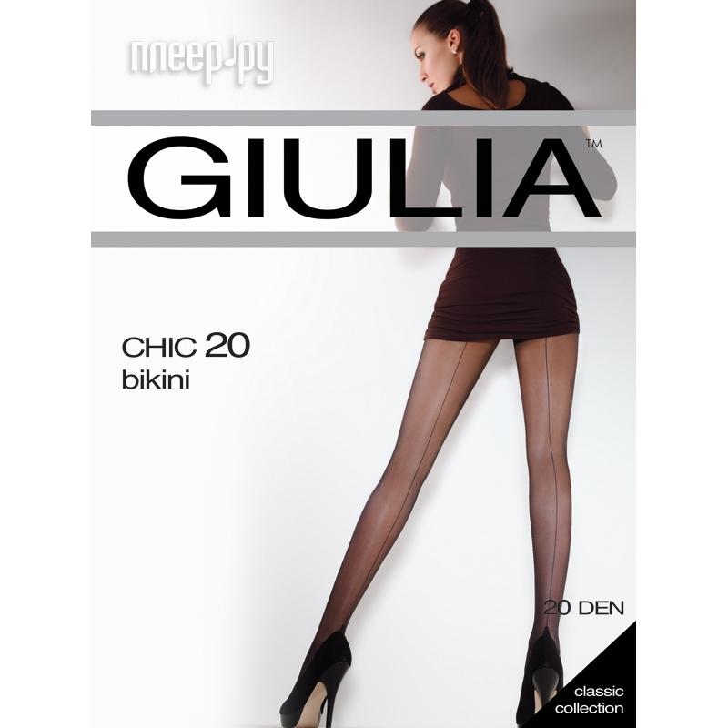 Колготки Giulia Chic размер 4 плотность 20 Den Visone купить