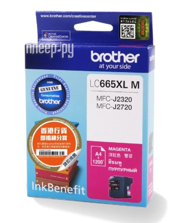 Картридж Brother LC665XLM Magenta для MFC-J2320 / J2720 купить