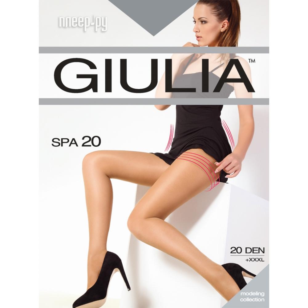 Колготки Giulia SPA размер 4 плотность 20 Den Nero