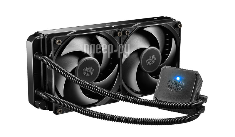Водяное охлаждение Cooler Master Seidon 240V RL-S24V-24PK-R1 (Intel LGA2011-3/2011/1156/1155/1150/1366/775/AMD FM2+/FM2/FM1/AM3+/AM3