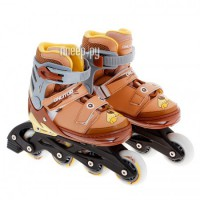 Коньки Onlitop ABEC-5 31-34 Brown 869407