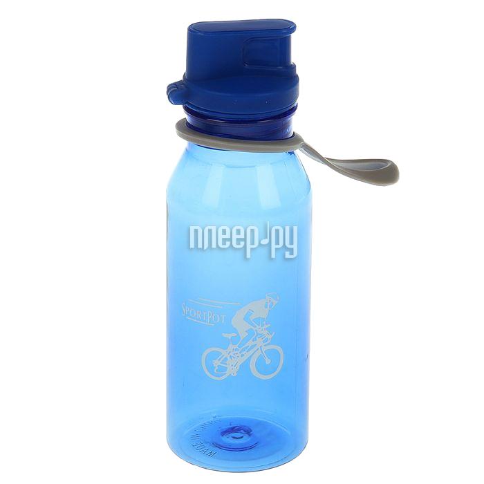 Бутылка СИМА-ЛЕНД Велоспорт 500ml Blue 1684782