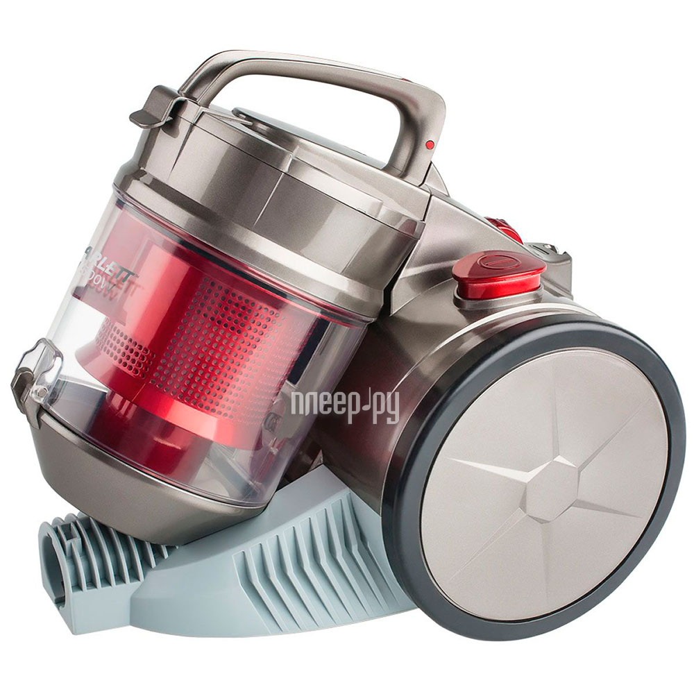 Пылесос Scarlett SC-VC80C04 Grey-Red