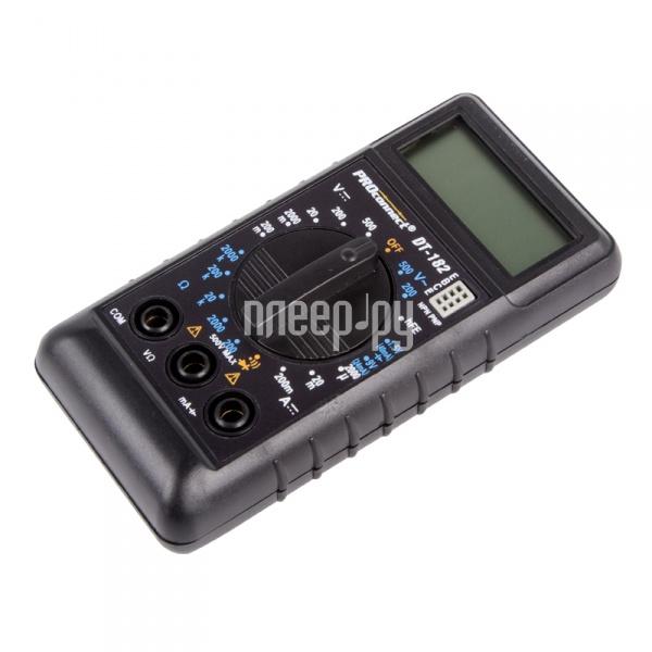 Мультиметр ProConnect DT-182 13-3014