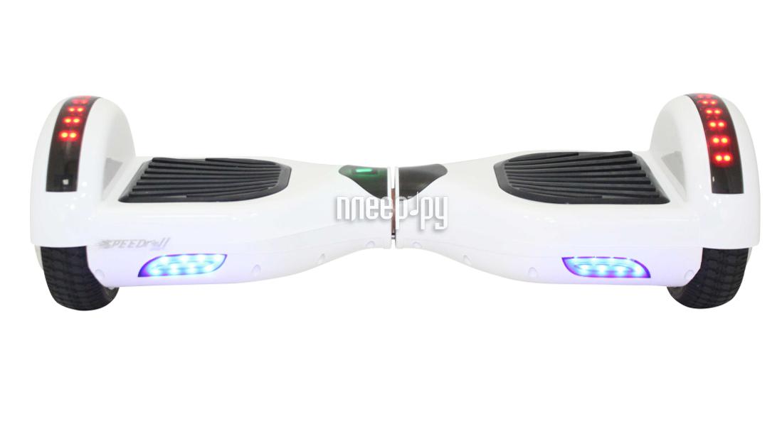 Гироскутер SpeedRoll Premium Smart Led 01LAPP с самобалансировкой White