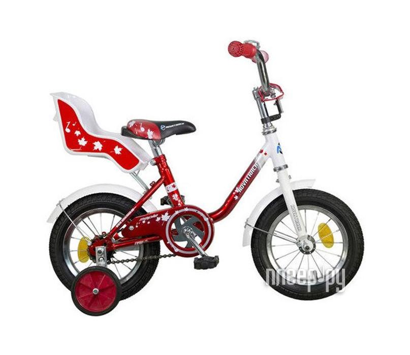 Велосипед Novatrack Maple 12 2017 Red 124MAPLE.rd7