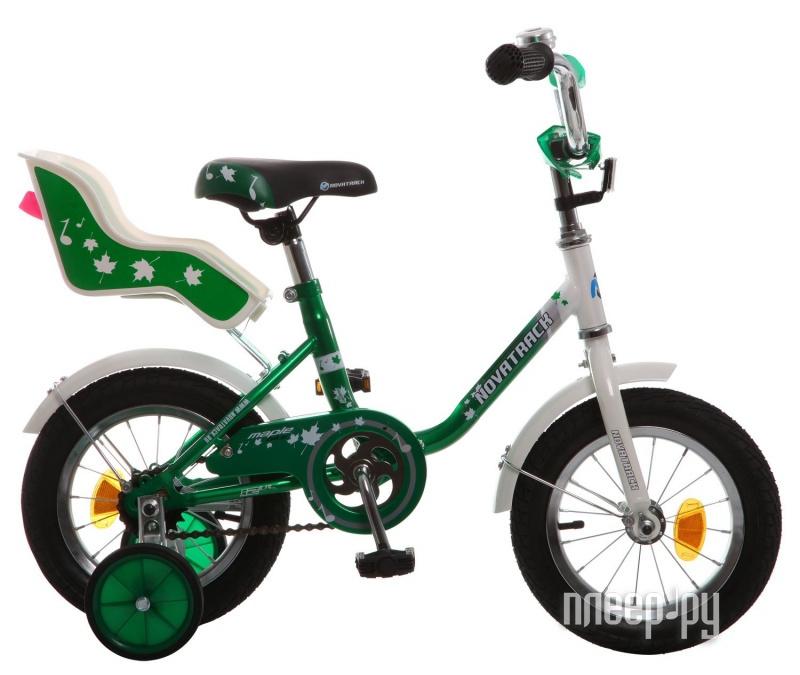 Велосипед Novatrack Maple 12 2015 Green 124MAPLE.Gn5