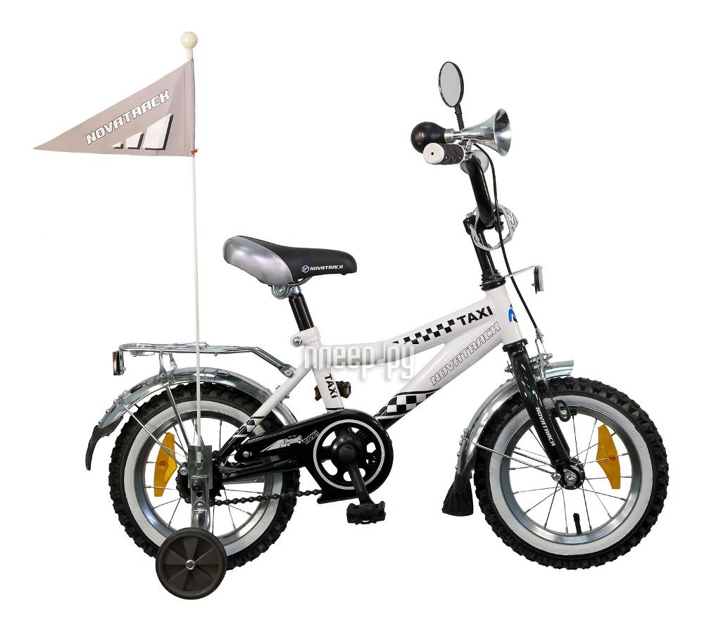 Велосипед Novatrack Taxi 12 2015 Black-White 127Taxi.wt5