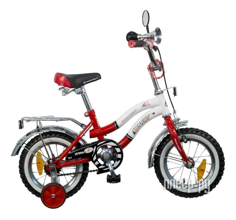 Велосипед Novatrack Zebra 12 2015 Red-White 125zebra.rd5