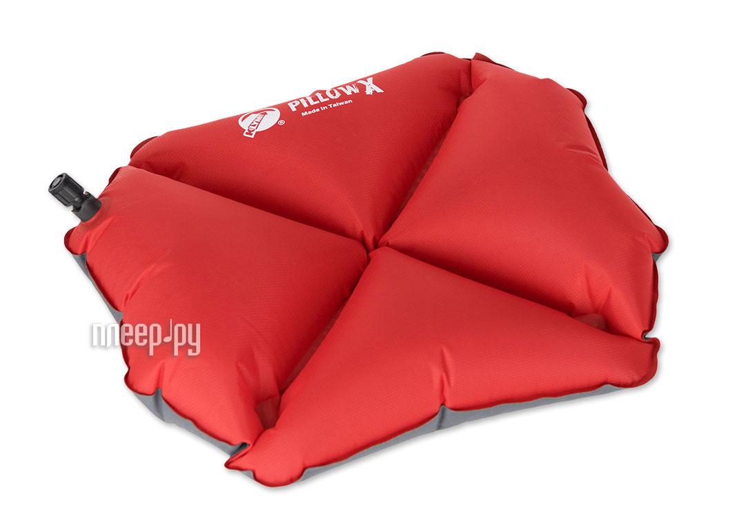 Коврик Klymit Pillow X Red 12PXRd01C