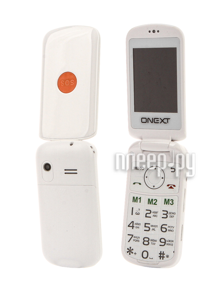 Сотовый телефон Onext Care-Phone 6 White