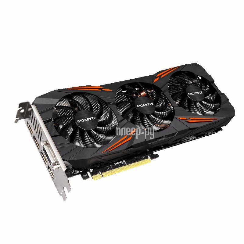 Видеокарта GigaByte GeForce GTX 1070 1607Mhz PCI-E 3.0 8192Mb 8008Mhz 256 bit DVI HDMI HDCP Rock GV-N1070G1 ROCK-8GD