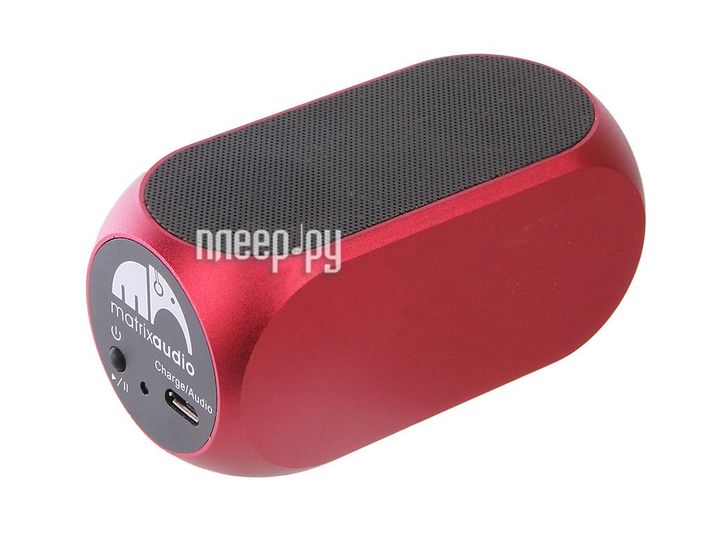 Колонка Matrix Audio QUBE 2 Pink