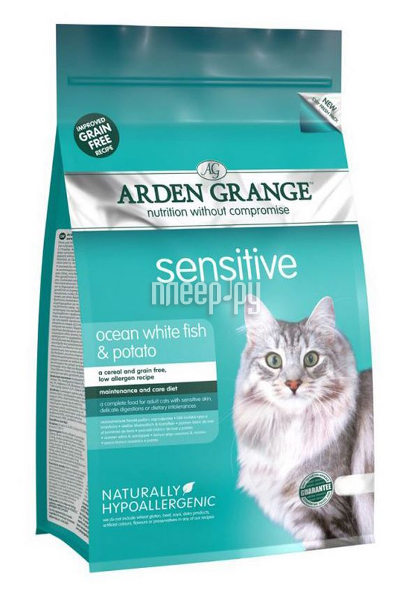 Корм Arden Grange Adult Cat Sensitive 0.4kg