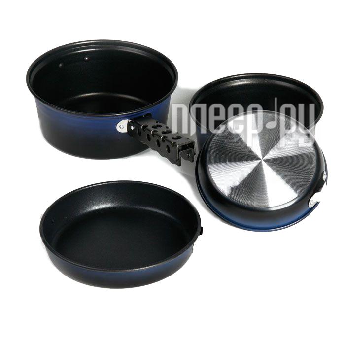 Посуда KingCamp Deluxe cookset набор