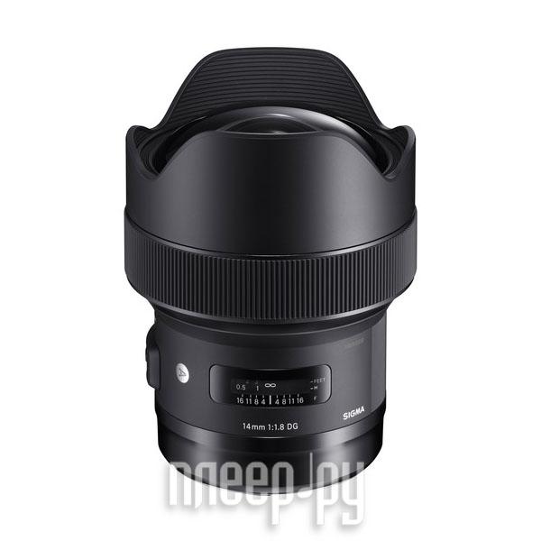 Объектив Sigma Canon AF 14 mm F / 1.8 DG HSM Art EF за 90142 рублей