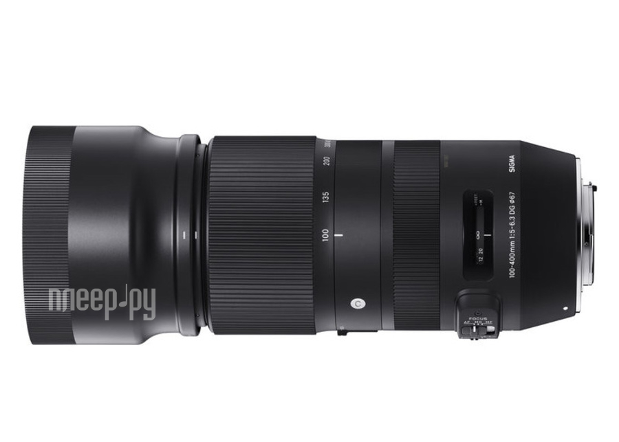 Объектив Sigma Nikon F 100-400 mm F/5-6.3 DG OS HSM Contemporary