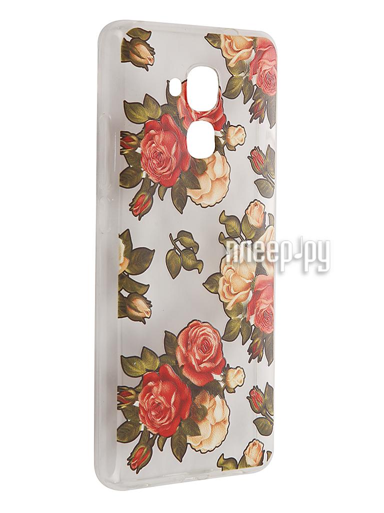 Аксессуар Чехол Huawei Honor 5C CaseGuru Коллекция Узоры рис 1 90093