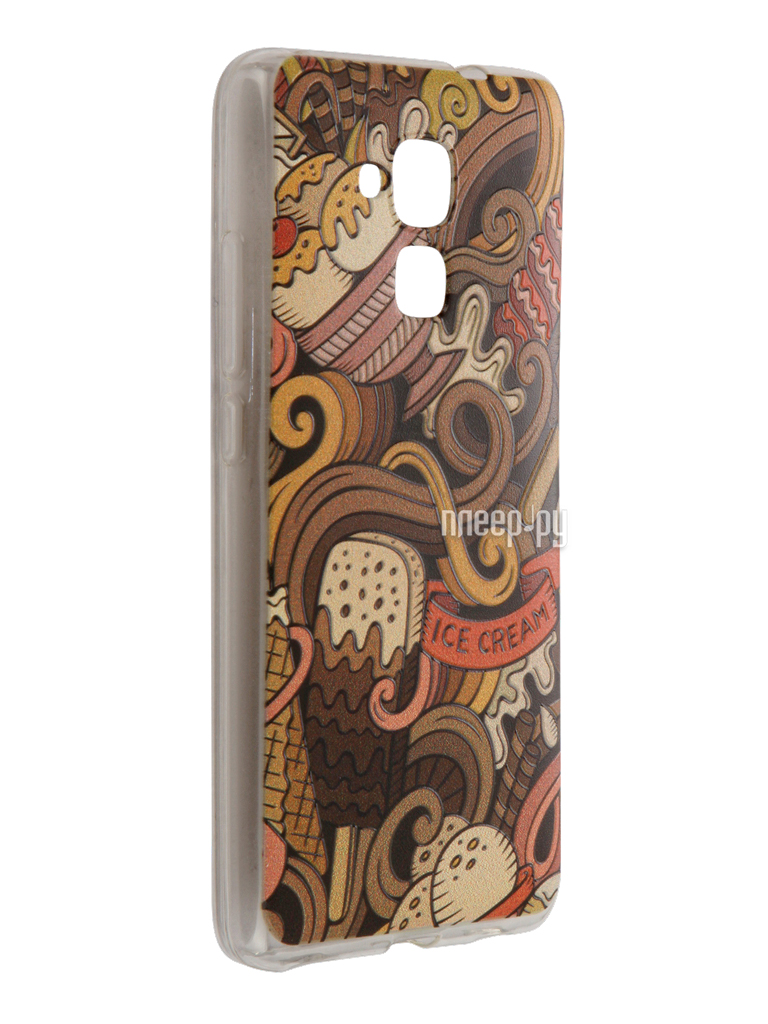 Аксессуар Чехол Huawei Honor 5C CaseGuru Коллекция Узоры рис 6 90098 за 689 рублей