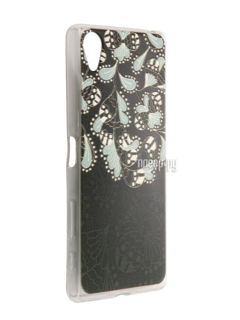 Аксессуар Чехол Sony Xperia X CaseGuru Коллекция Узоры рис 3 88991
