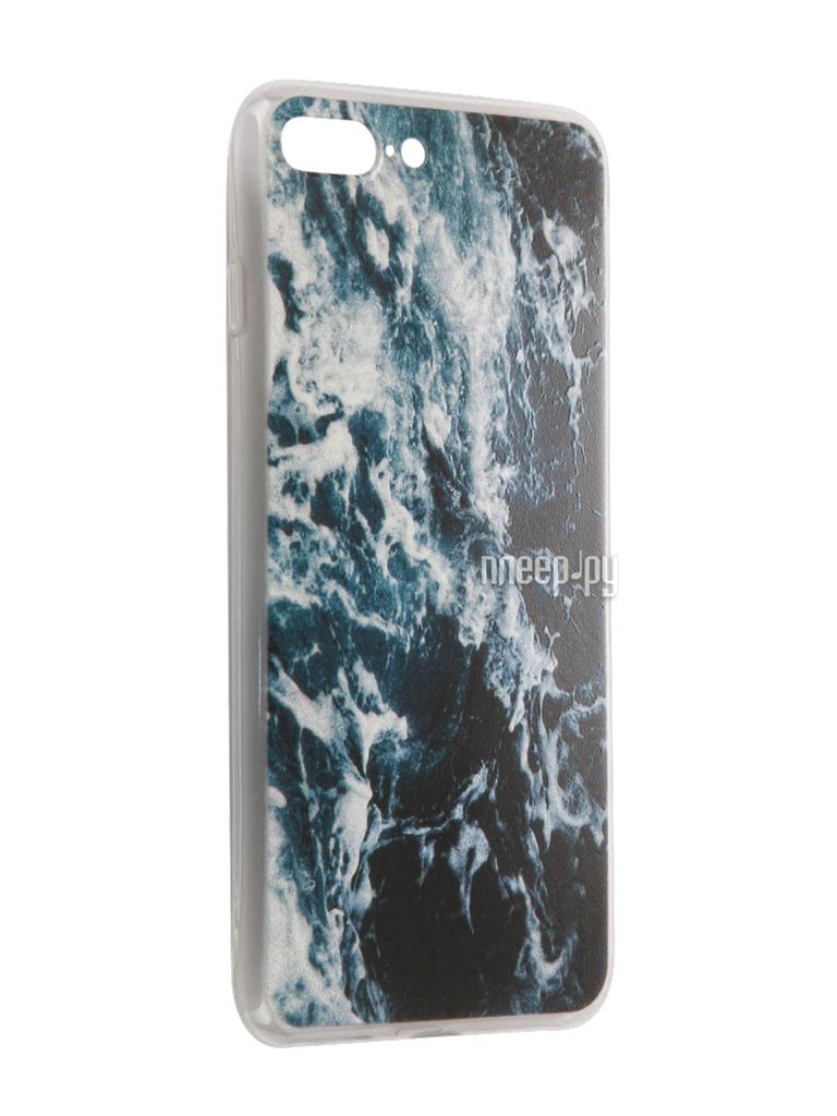Аксессуар Чехол CaseGuru Коллекция Природа рис 3 для iPhone 7 Plus 88167 за 260 рублей