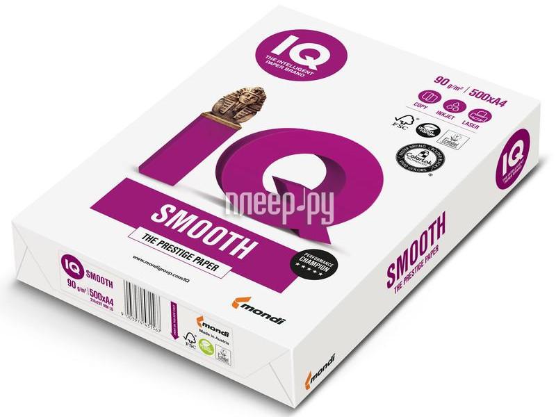 Бумага IQ Selection Smooth А4 100g / m2 500л A+