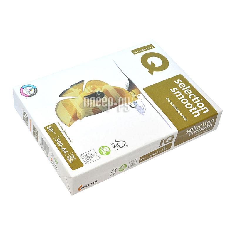 Бумага IQ Selection Smooth А4 80g / m2 500л A+