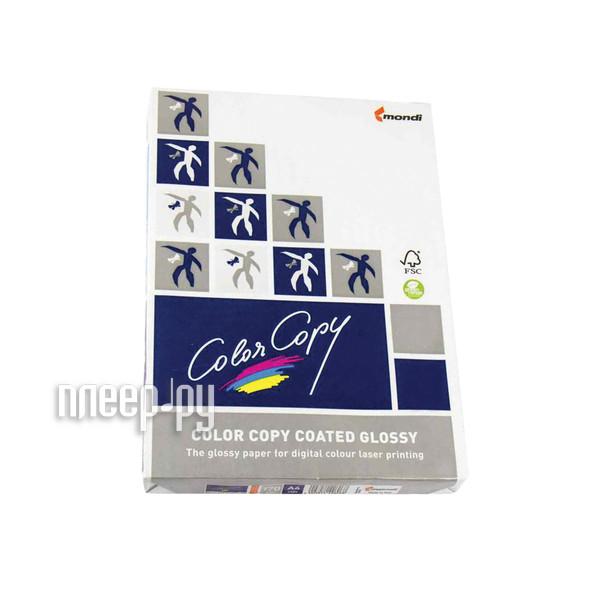 Бумага Color Copy Glossy A4 170g/m2 250 листов 138% White 110728