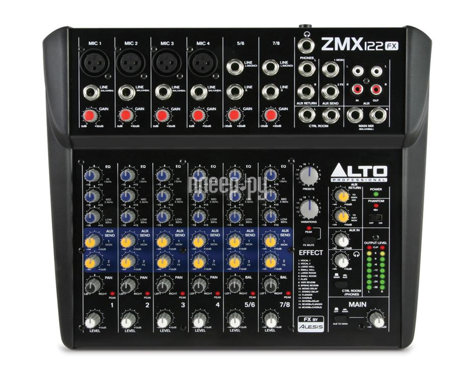 Пульт Alto ZMX122FX