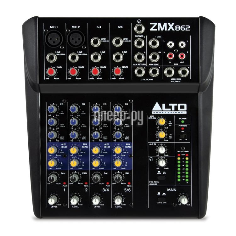 Пульт Alto ZMX862