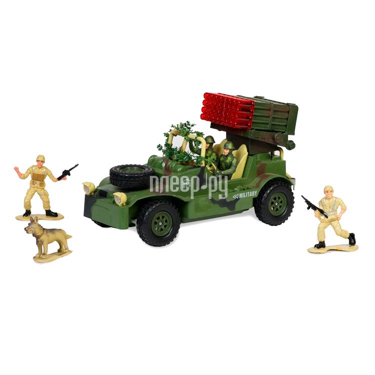 Радиоуправляемая игрушка Mioshi Army Военный джип MAR1207-009