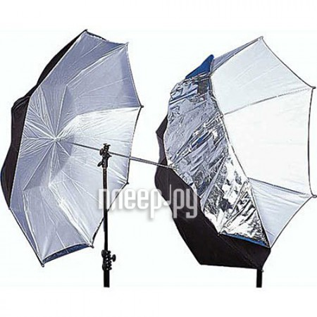 Lastolite Umbrella Dual Duty 100cm LL LU4523F White / Silver / Black