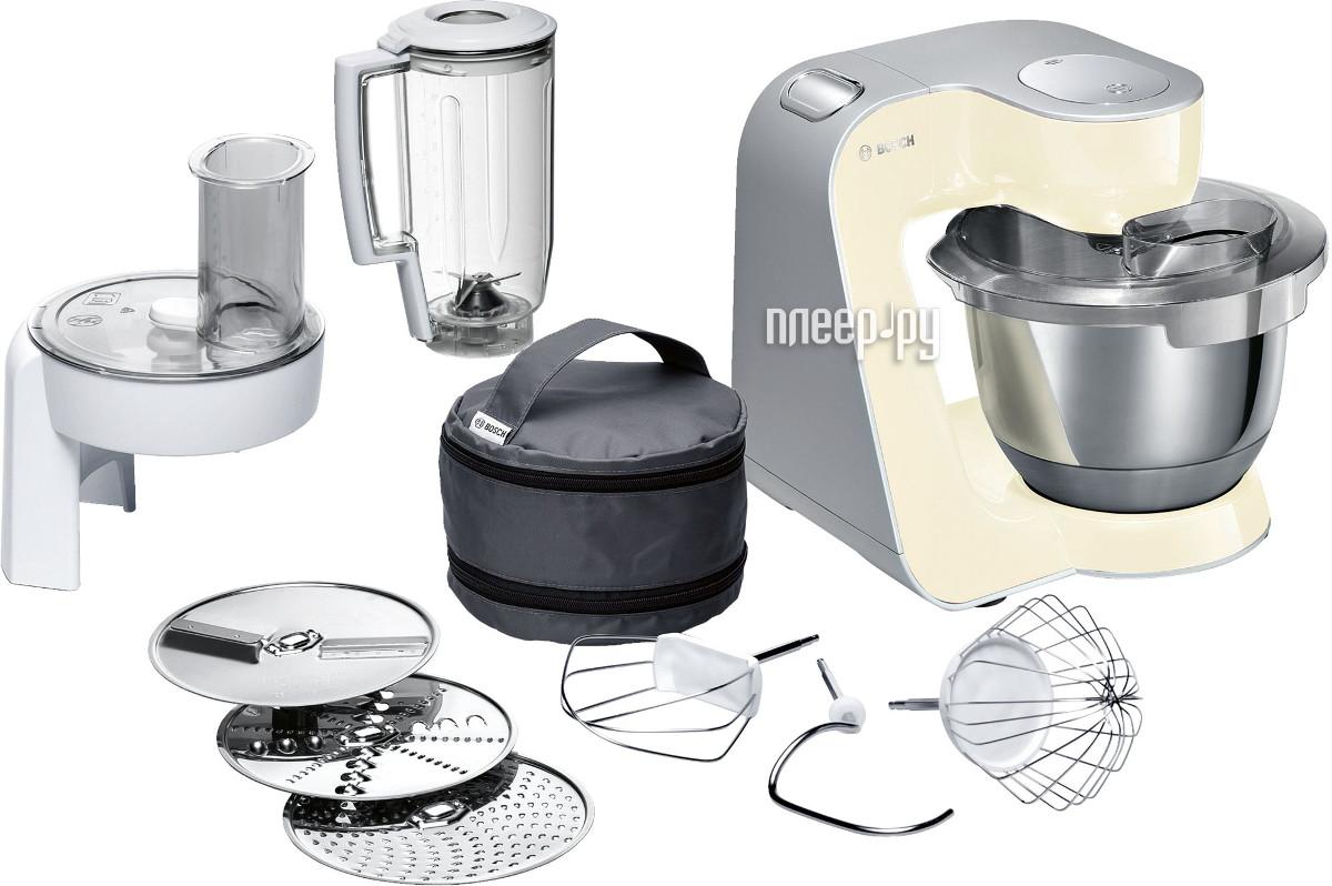 комбайн Bosch MUM 58920 Vanilla-Silver