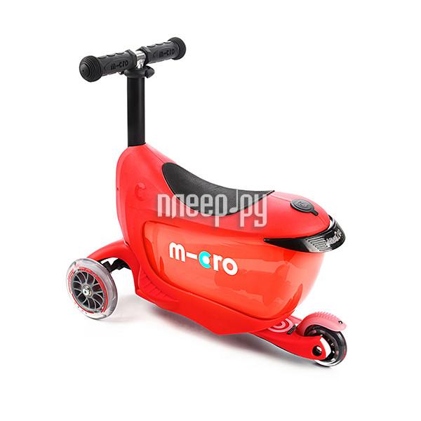 Самокат Micro Mini 2go Deluxe Red MMD018