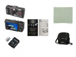 Купить Фотоаппарат Olympus Stylus Tough TG-4 Black Выгодный набор + подарок серт. 200Р!!