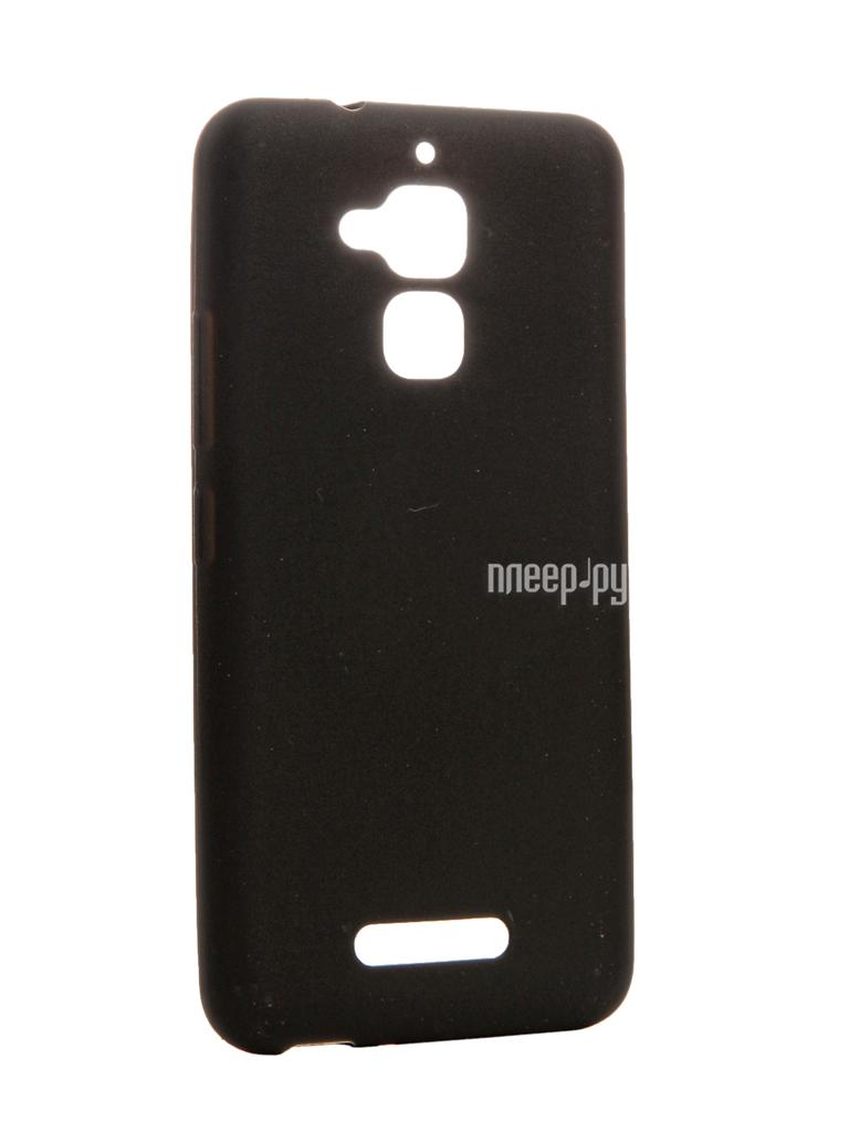 Аксессуар Чехол ASUS ZenFone 3 MAX ZC520TL Zibelino Soft Matte Black
