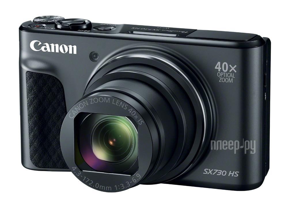 Фотоаппарат Canon PowerShot SX730 HS Black