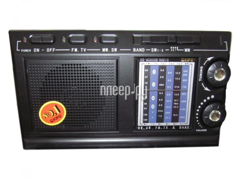 Радиоприемник Kipo KB-AC808B