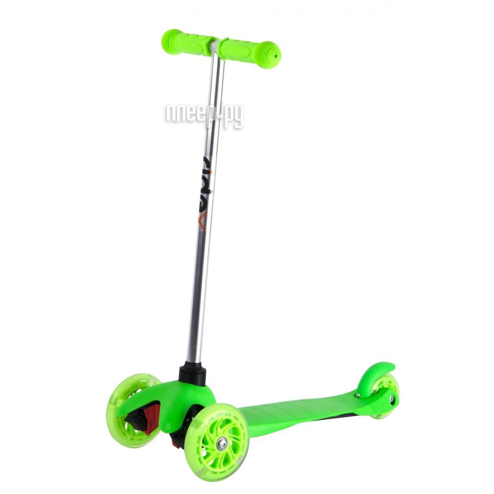 Самокат Ridex 3D Kinder 120 / 80 Green