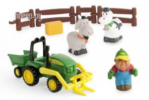 Купить Игрушка Tomy Моя первая ферма, набор с погрузчиком 43068