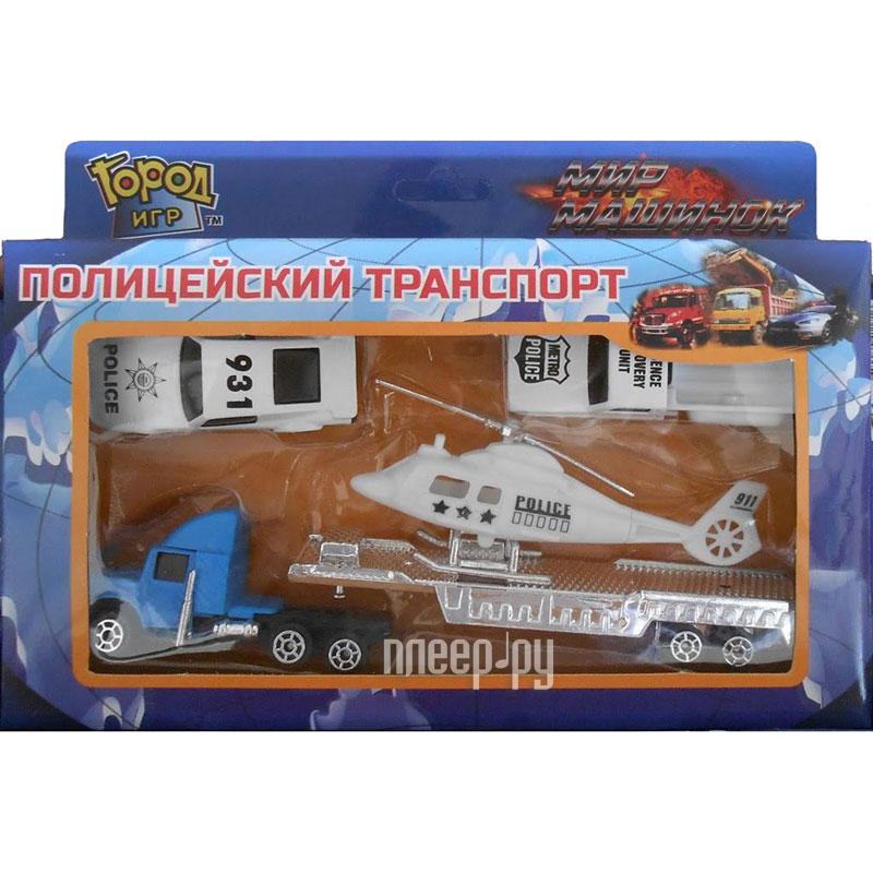 Машина Город игр Мир машинок Полиция S GI-6344