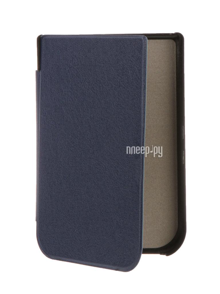 Аксессуар Чехол for PocketBook 631 TehnoRim Slim Dark Blue TR-PB631-SL01DBLU