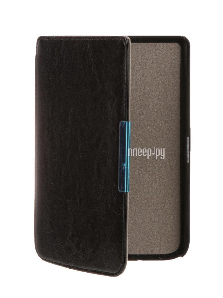 Аксессуар Чехол for PocketBook 626 TehnoRim Slim Black TR-PB626-SL01BL