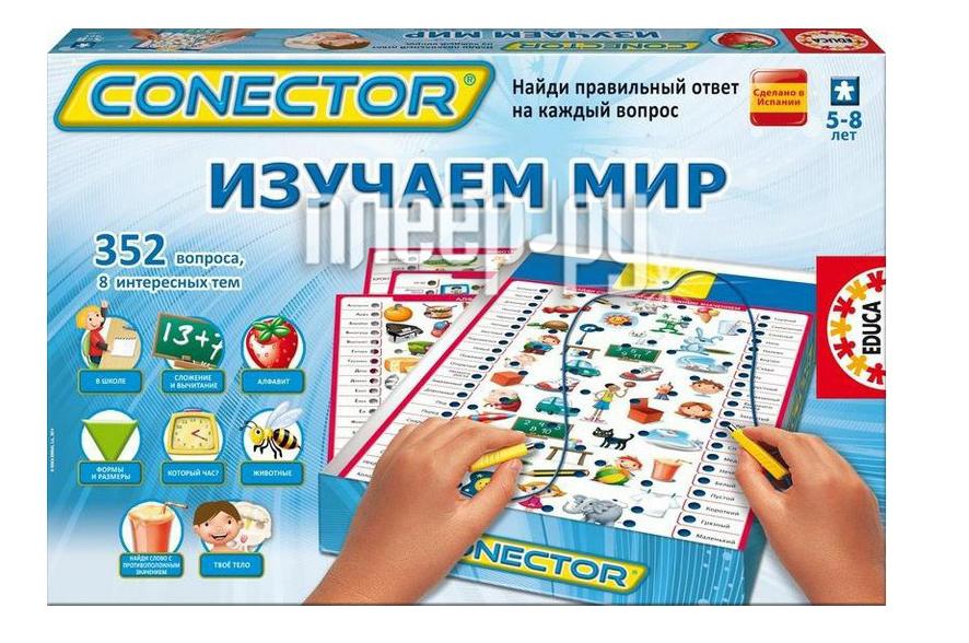 Настольная игра Educa Изучаем мир 15220