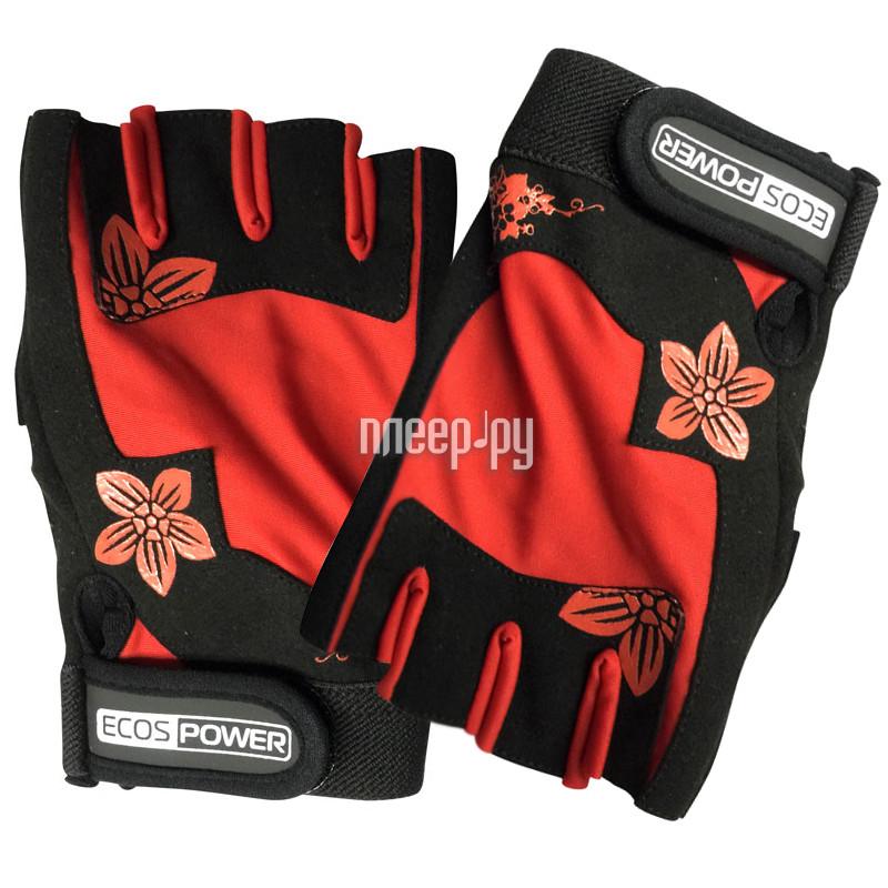Перчатки для фитнеса Ecos 5106-RM размер М