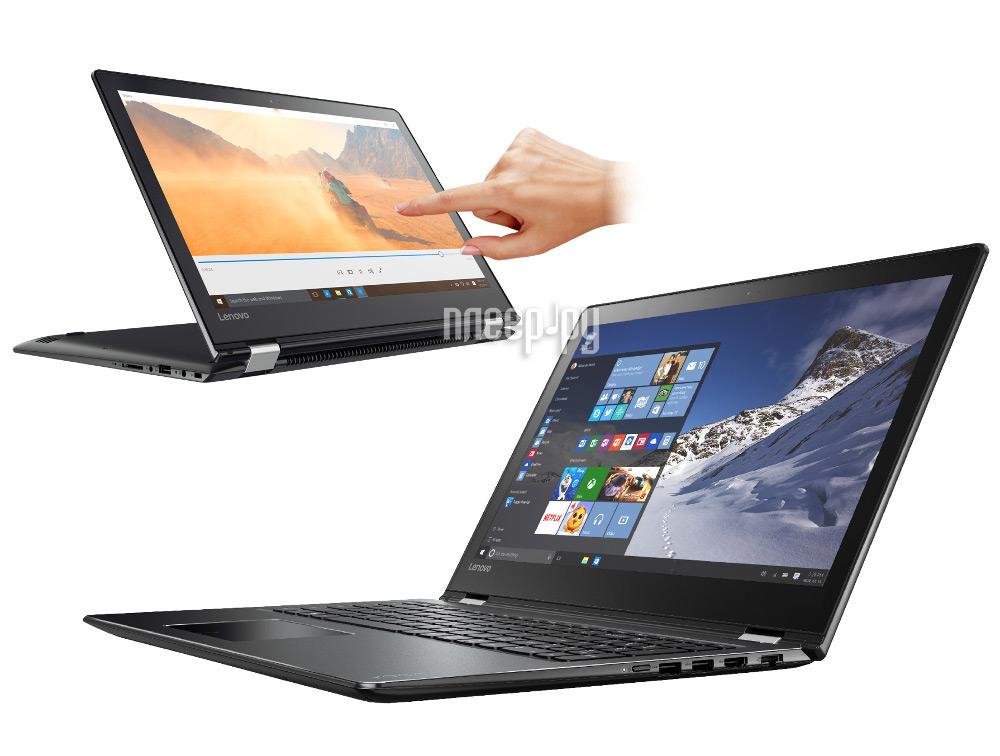 Ноутбук Lenovo 510-15IKB 80VC000FRK (Intel Core i5-7200U 2.5 GHz / 8192Mb / 1000Gb / Intel HD Graphics / Wi-Fi / Bluetooth / Cam / 15.6 / 1920x1080 / Touchscreen / Windows 10 64-bit)