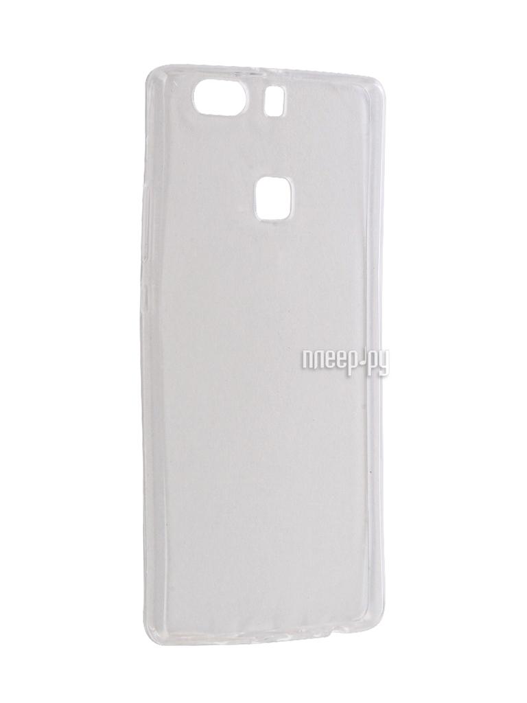 Аксессуар Чехол Huawei P9 Plus Krutoff Silicone Transparent 11798
