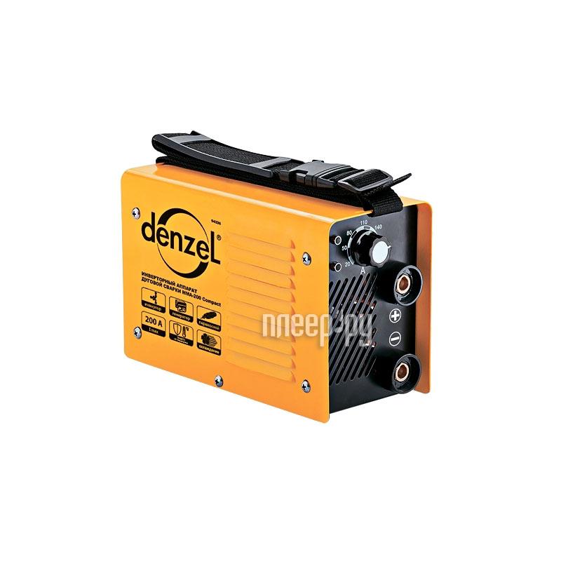 Сварочный аппарат Denzel ММА-200 Compact 94336