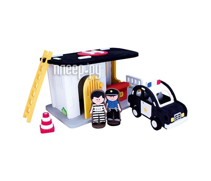 Конструктор Bebox Полицейский участок 67шт M5902